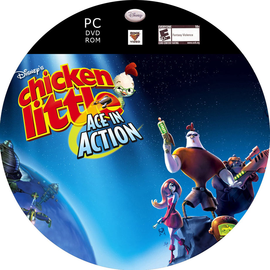 Chicken Little: Ace in Action - CD obal