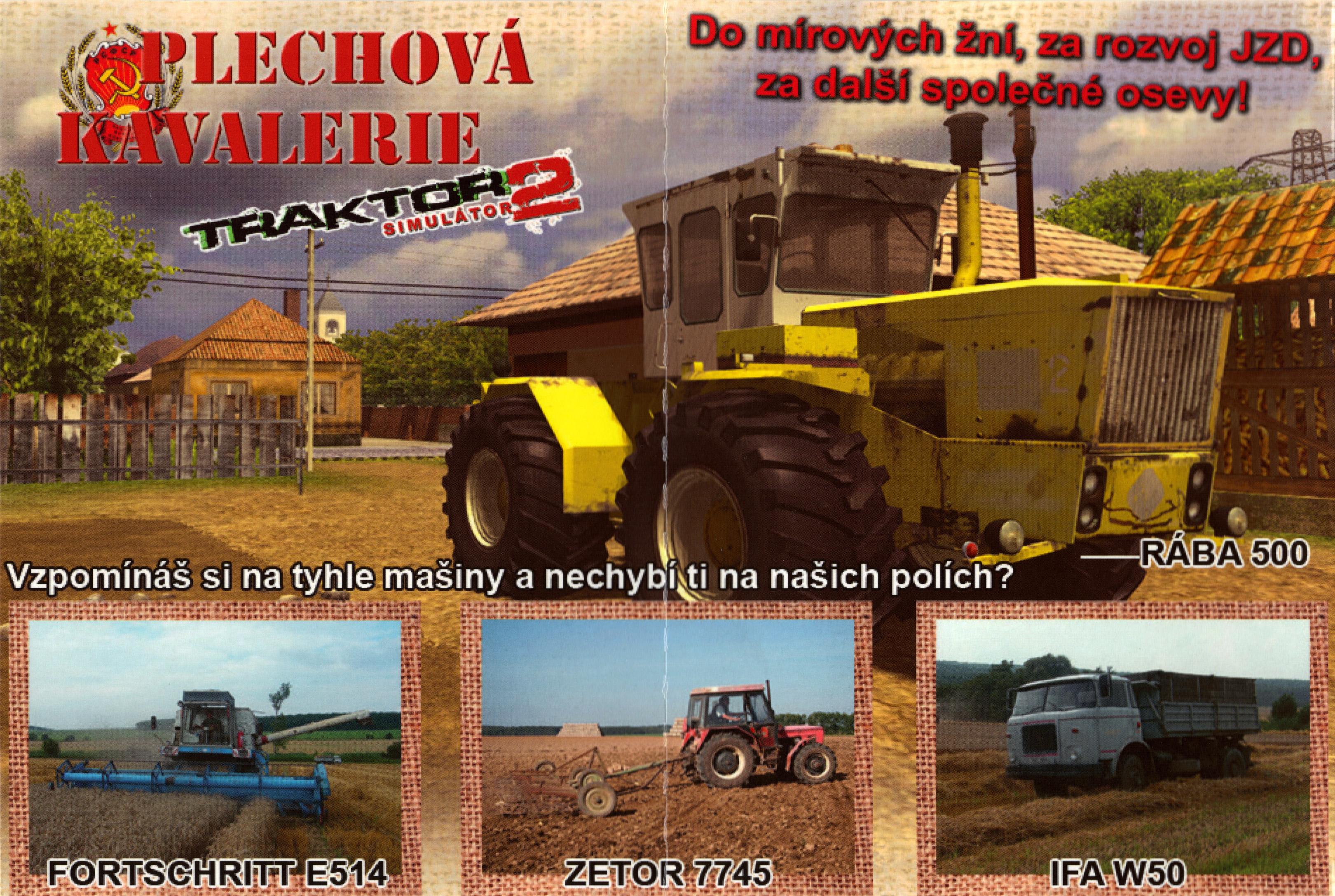 traktor zetor simulator 2011 plechova kavalerie
