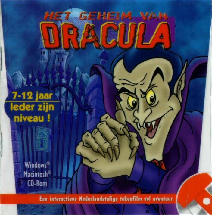 Het Geheim van Dracula - predný CD obal