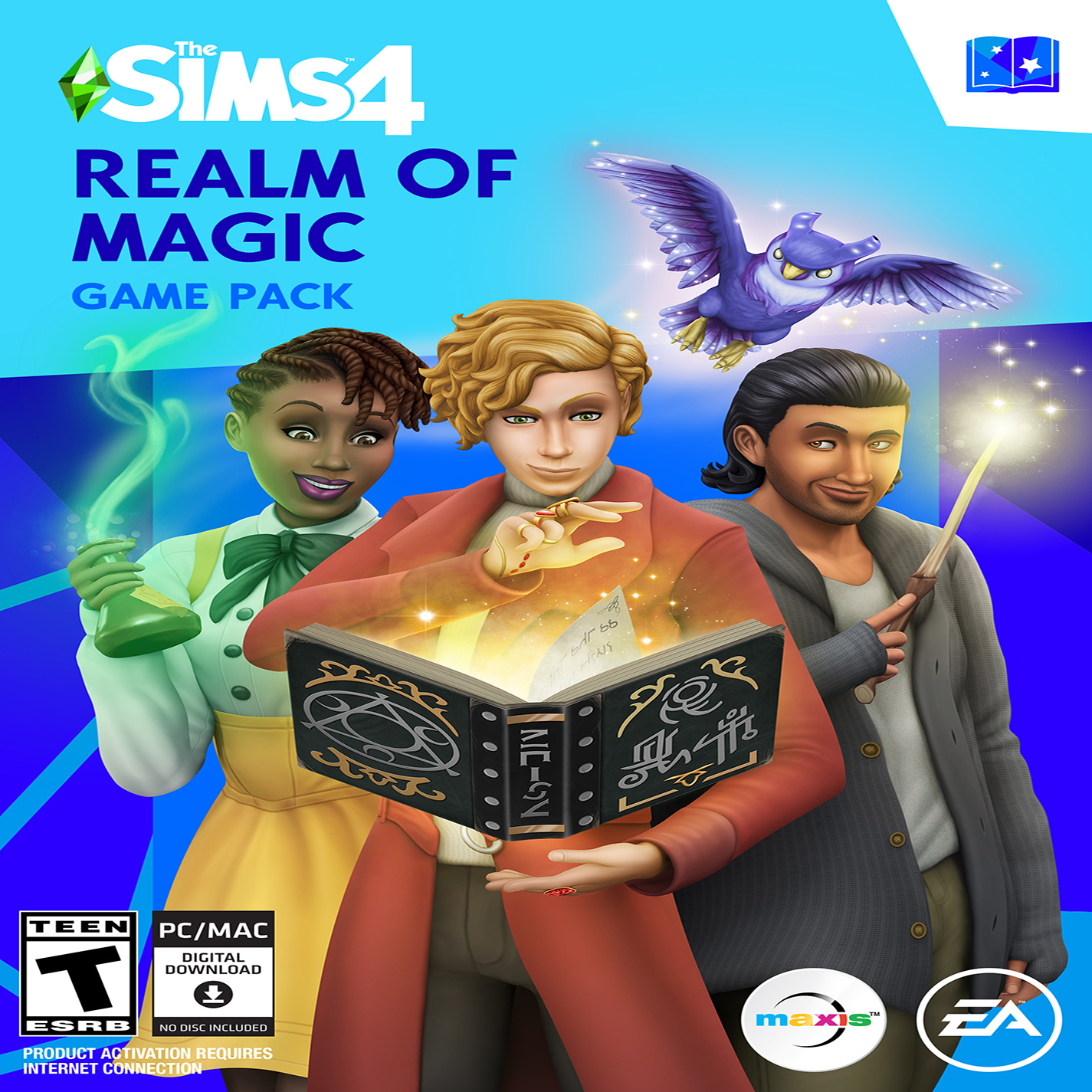 The Sims 4: Realm of Magic - přední CD obal