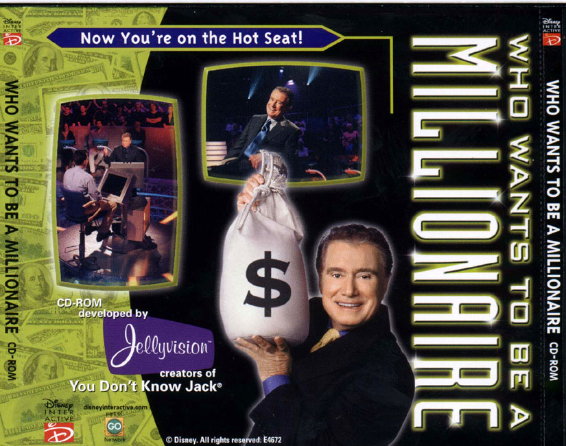 Who Wants to be a Millionaire? - zadní CD obal