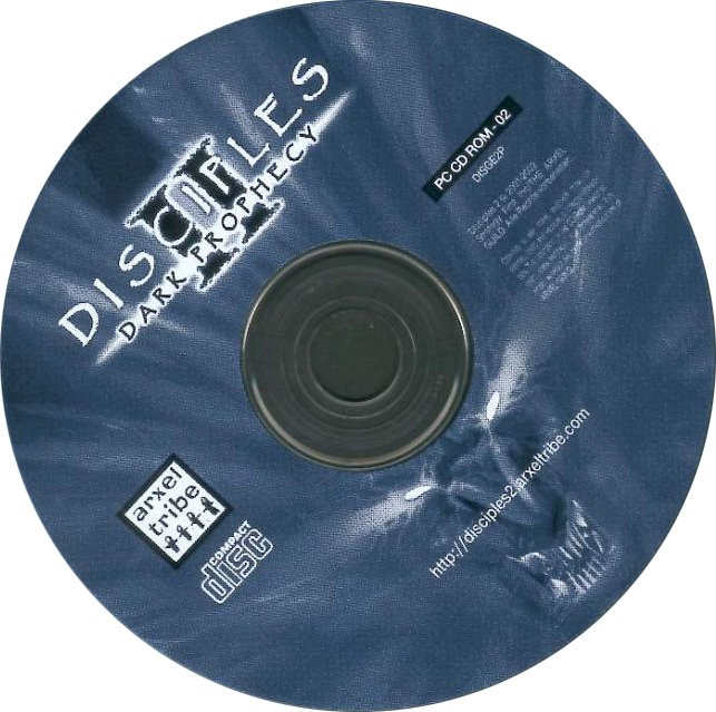 Disciples 2: Dark Prophecy - CD obal 2