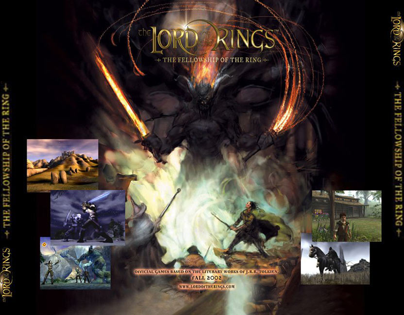 Lord of the Rings: The Fellowship of the Ring - zadní CD obal 2