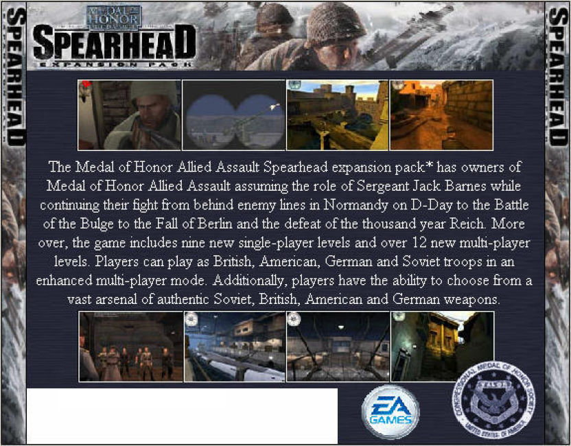 Ботов К Medal Of Honor Spearhead
