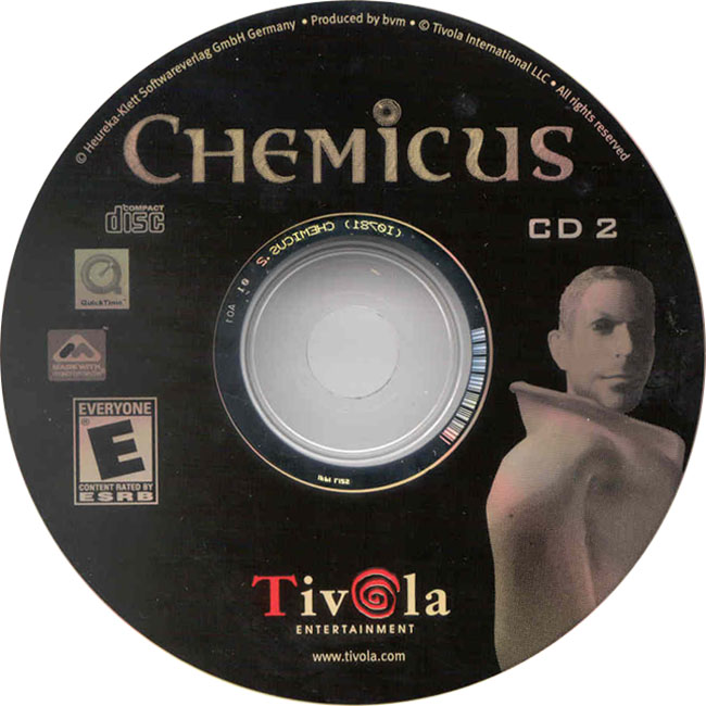 Chemicus: Journey to the Other Side - CD obal 2