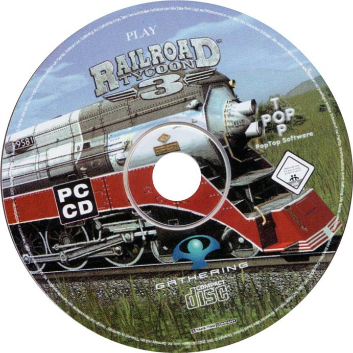 Railroad Tycoon 3 - CD obal 2