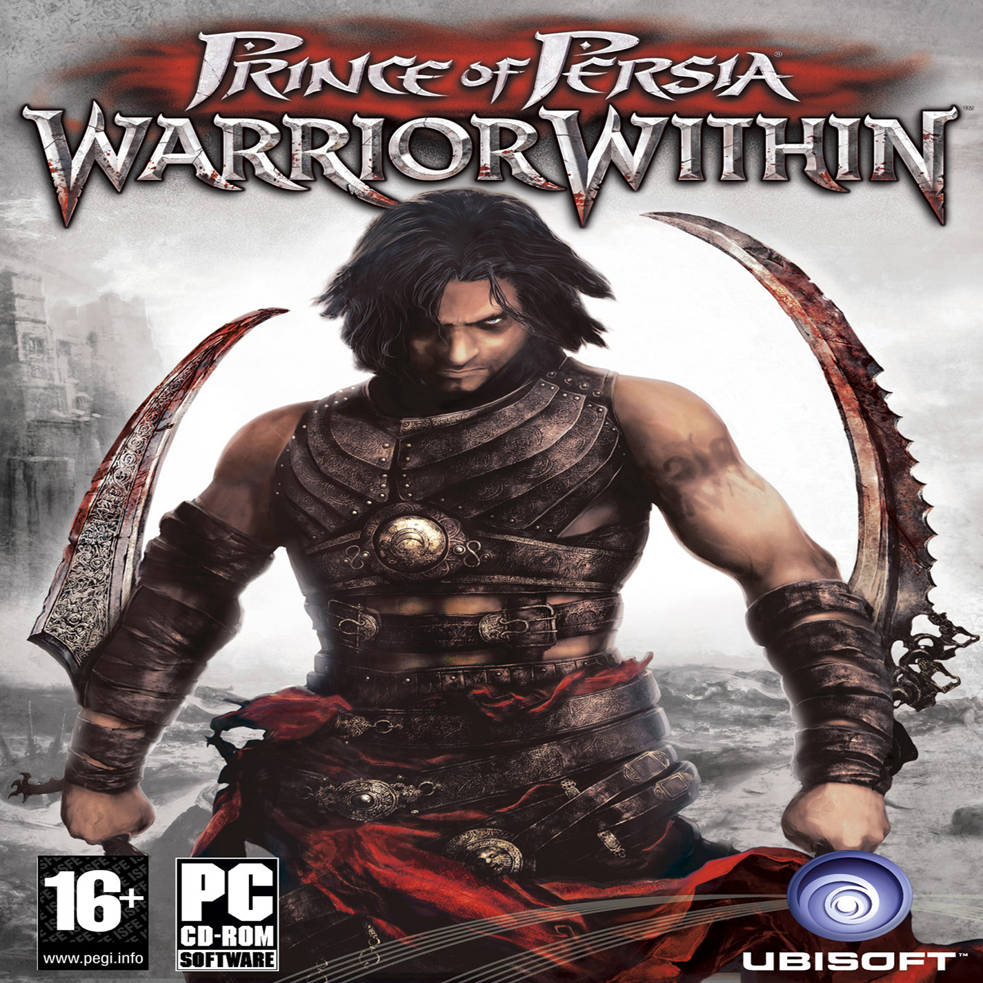 Prince of Persia: Warrior Within - přední CD obal