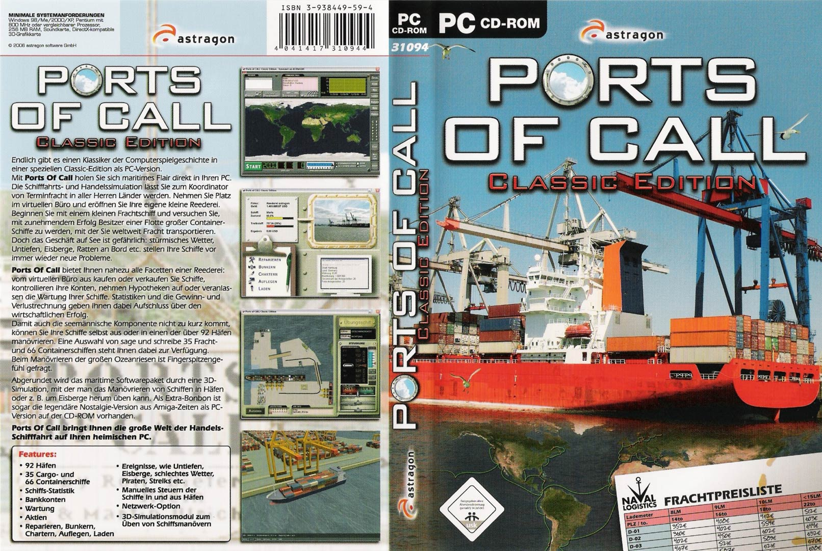 Ports of Call 2002 Classic - DVD obal