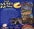 3D Maze Man: Amazing Adventures - zadný CD obal
