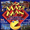 3D Maze Man: Amazing Adventures - predný CD obal