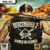 Mercenaries 2: World in Flames - predný CD obal