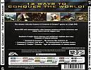 Command & Conquer: The First Decade - zadný CD obal