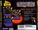 Dr. Brain Thinking Games: Puzzle Madness - zadný CD obal