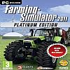 Farming Simulator 2011: Platinum Edition - predný CD obal