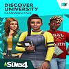 The Sims 4: Discover University - predný CD obal