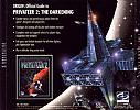 Privateer 2: The Darkening - zadný CD obal