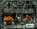 Quake 2 Mission Pack: The Reckoning - zadný CD obal