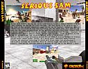 Serious Sam: The First Encounter - zadný CD obal