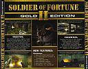 Soldier of Fortune 2: Gold Edition - zadný CD obal