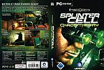 Splinter Cell 3: Chaos Theory - DVD obal