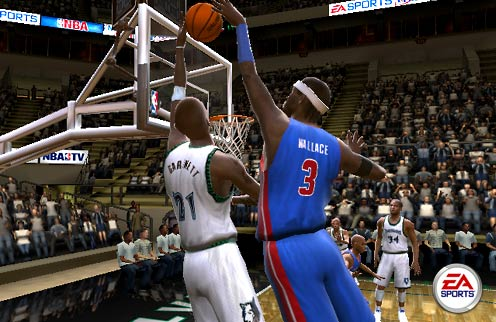 NBA Live 2005 - screenshot 2