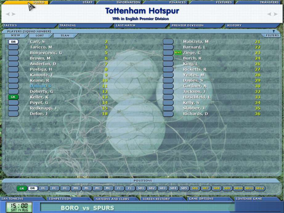 Championship Manager 5 - screenshot 3