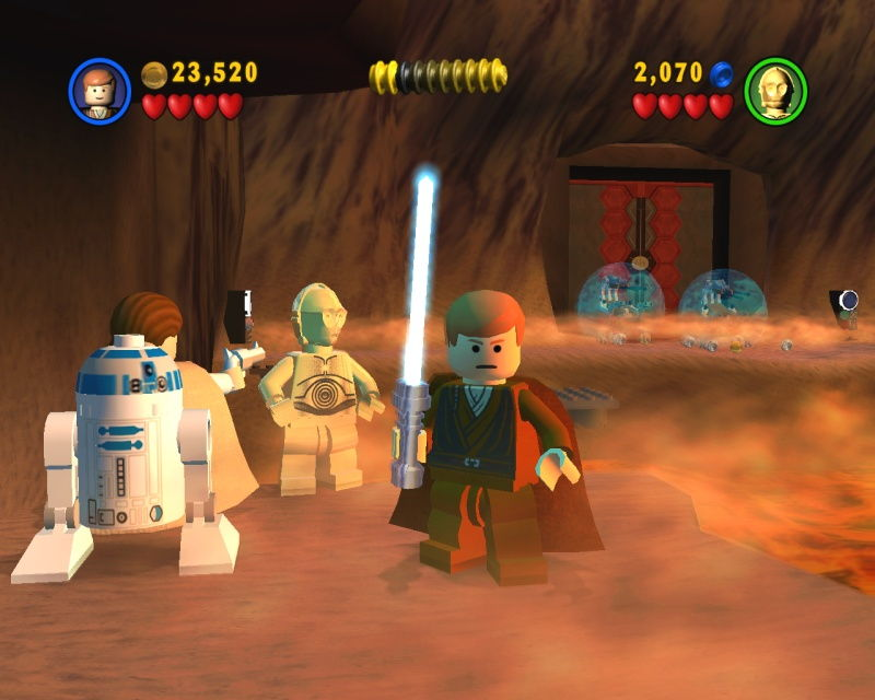LEGO Star Wars: The Video Game - screenshot 1