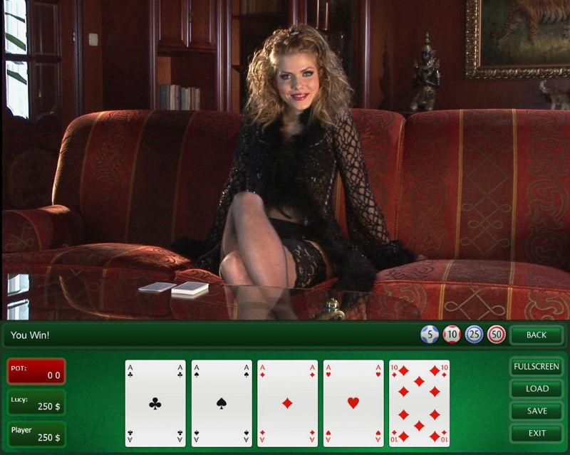 стрип покер играть онлайн