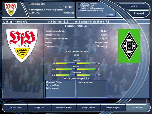 Total Club Manager 2003 - screenshot 3