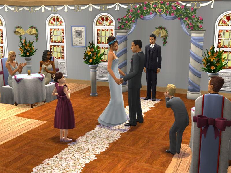 Симсы код на свадьбу