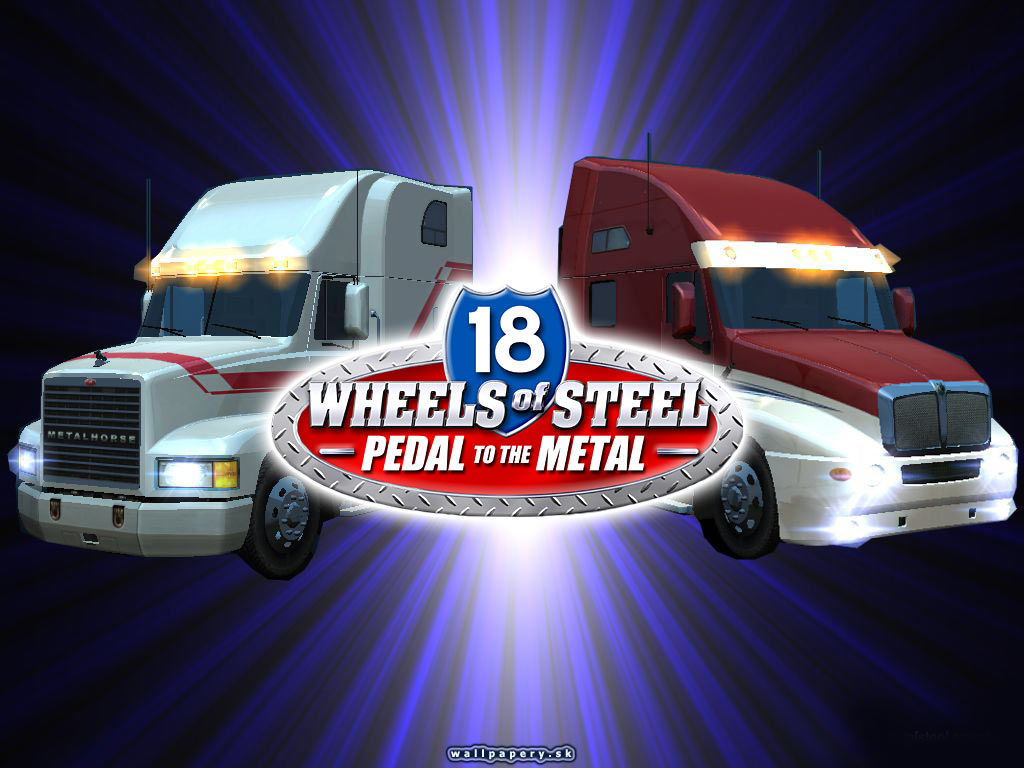 18 Wheels of Steel: Pedal To The Metal - wallpaper 4