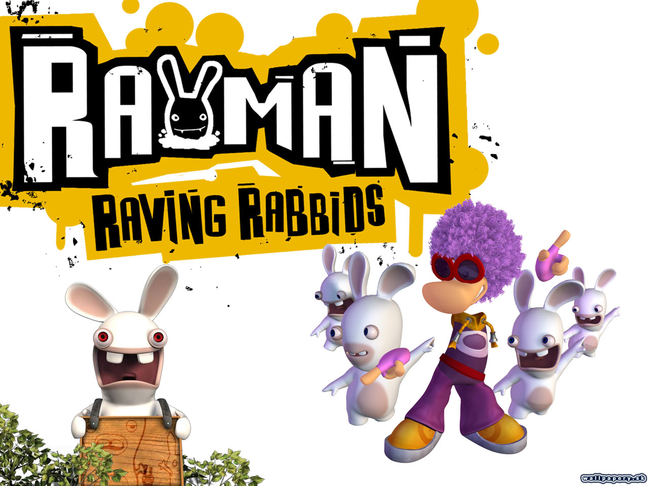 Rayman Raving Rabbids - wallpaper 9