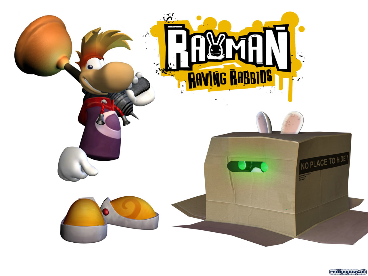 Rayman Raving Rabbids - wallpaper 14
