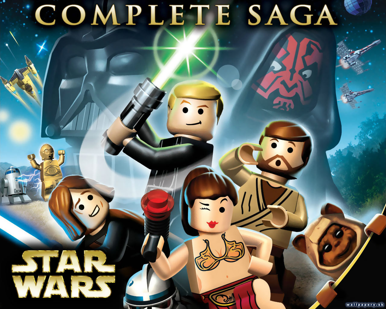LEGO Star Wars: The Complete Saga - wallpaper 1