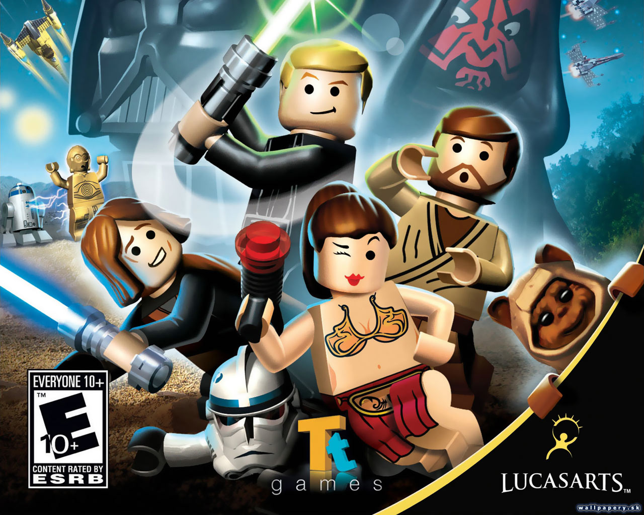LEGO Star Wars: The Complete Saga - wallpaper 2