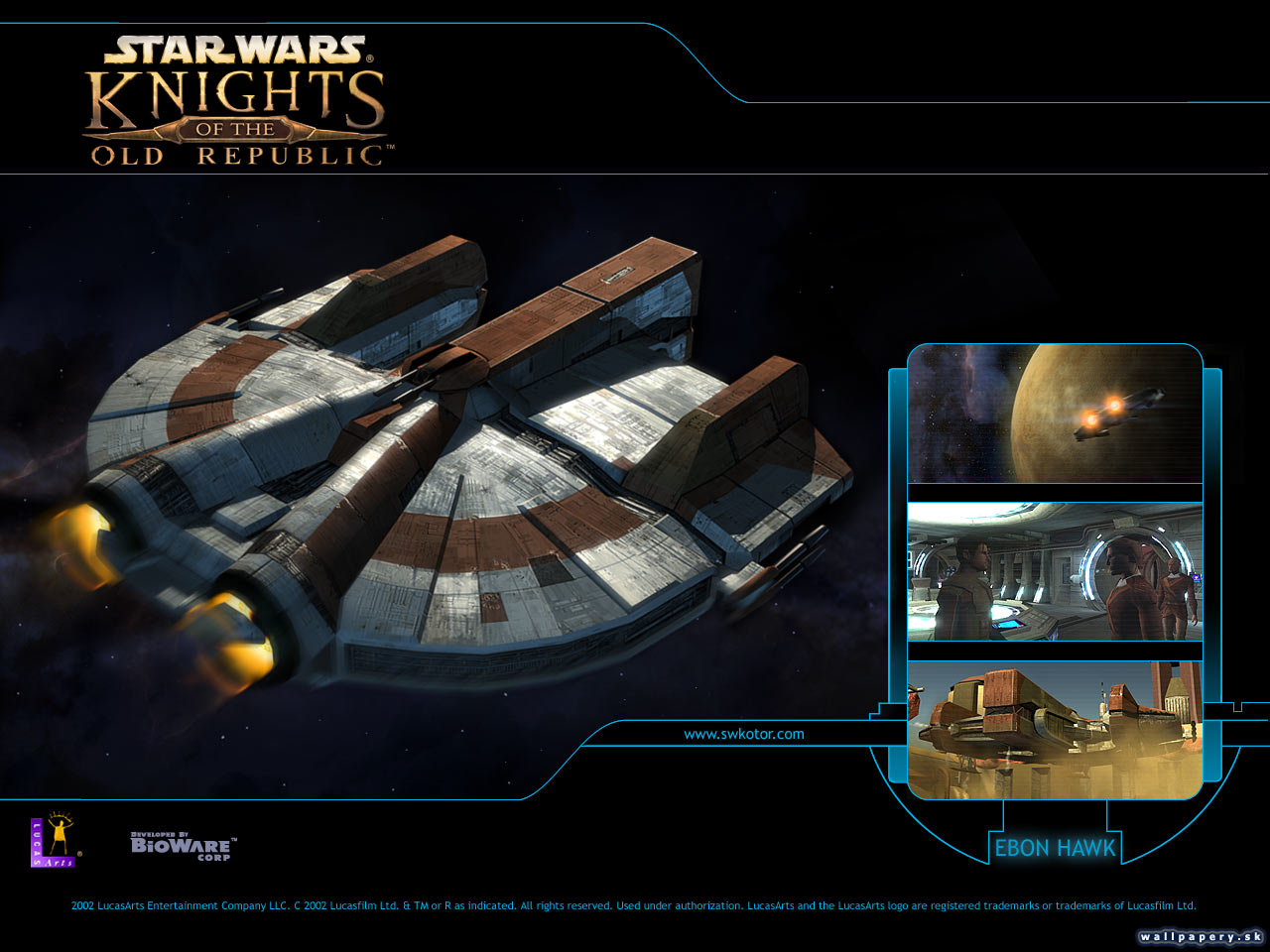 Star wars: knights of the old republic - wallpaper 8