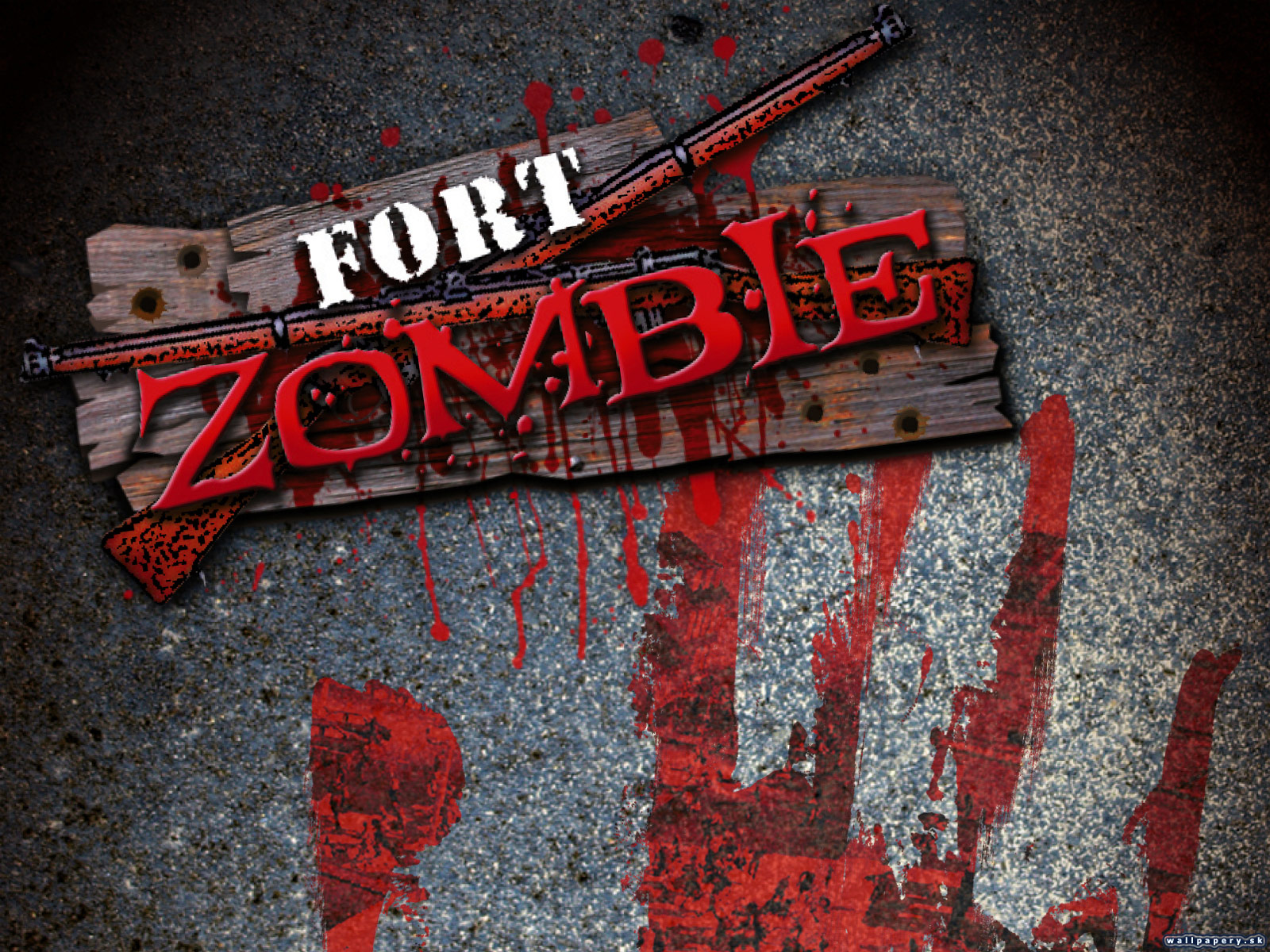 Fort Zombie - wallpaper 1