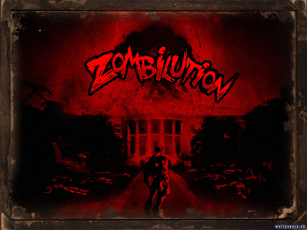 Zombilution - wallpaper 1