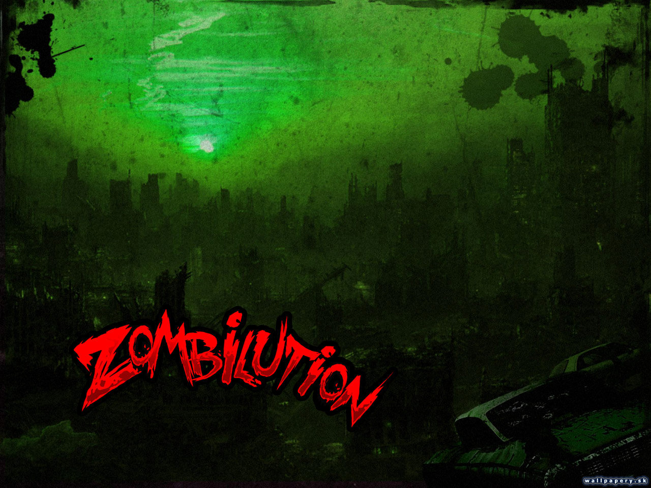 Zombilution - wallpaper 5