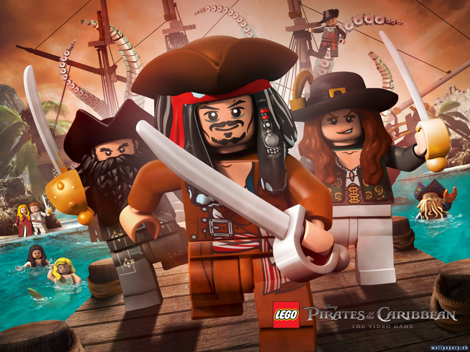 Lego Pirates of the Caribbean: The Video Game - wallpaper 1