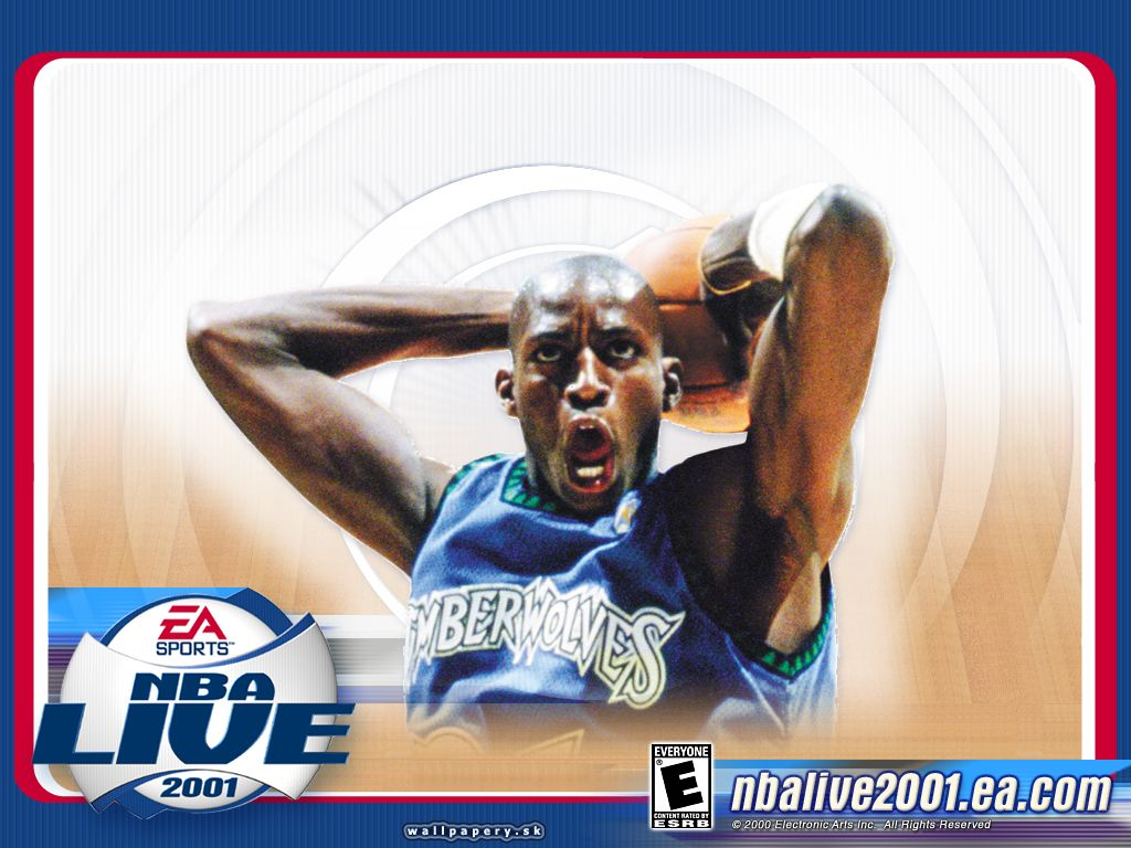 NBA Live 2001 - wallpaper 1