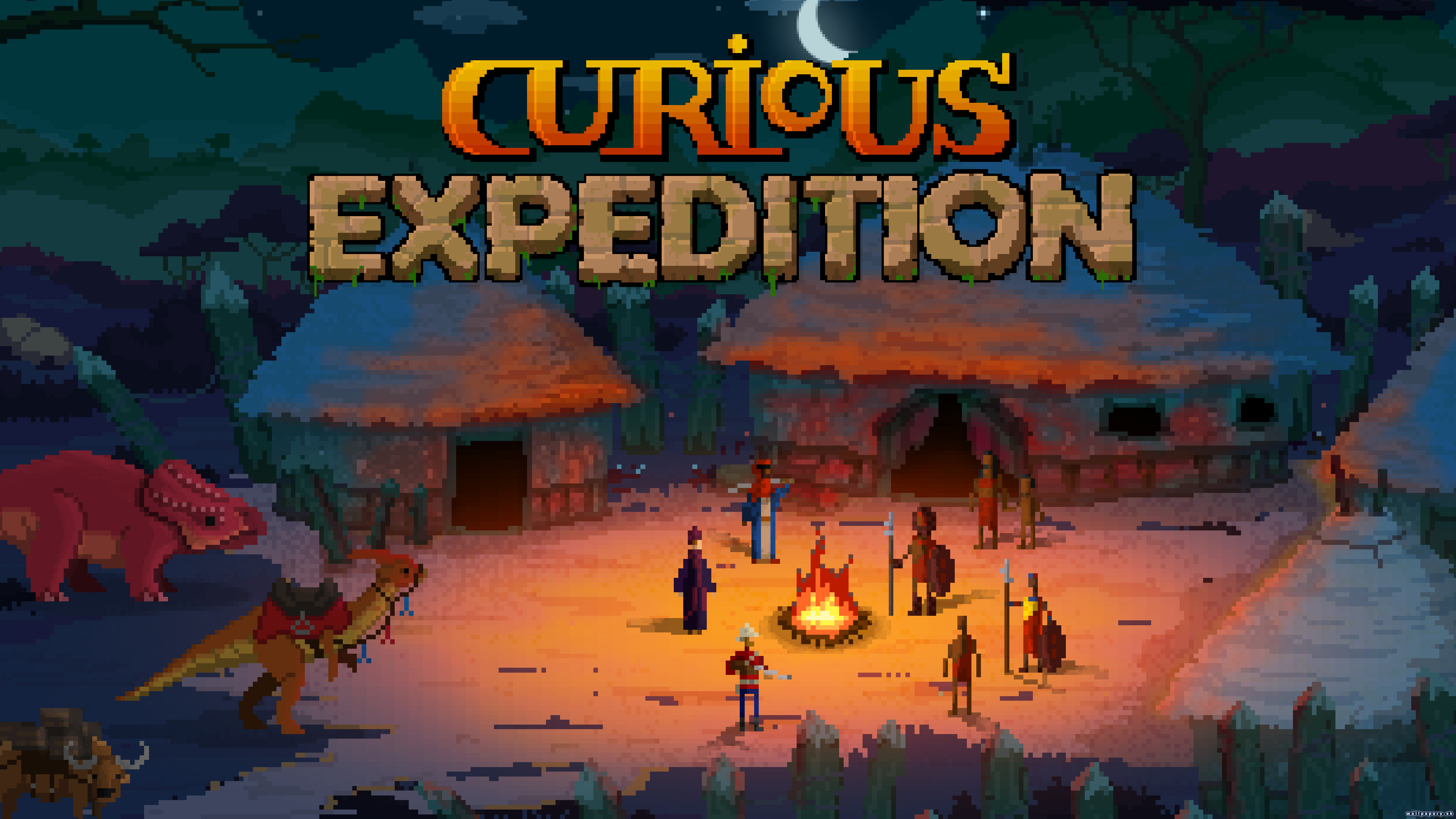Curious Expedition - wallpaper 2
