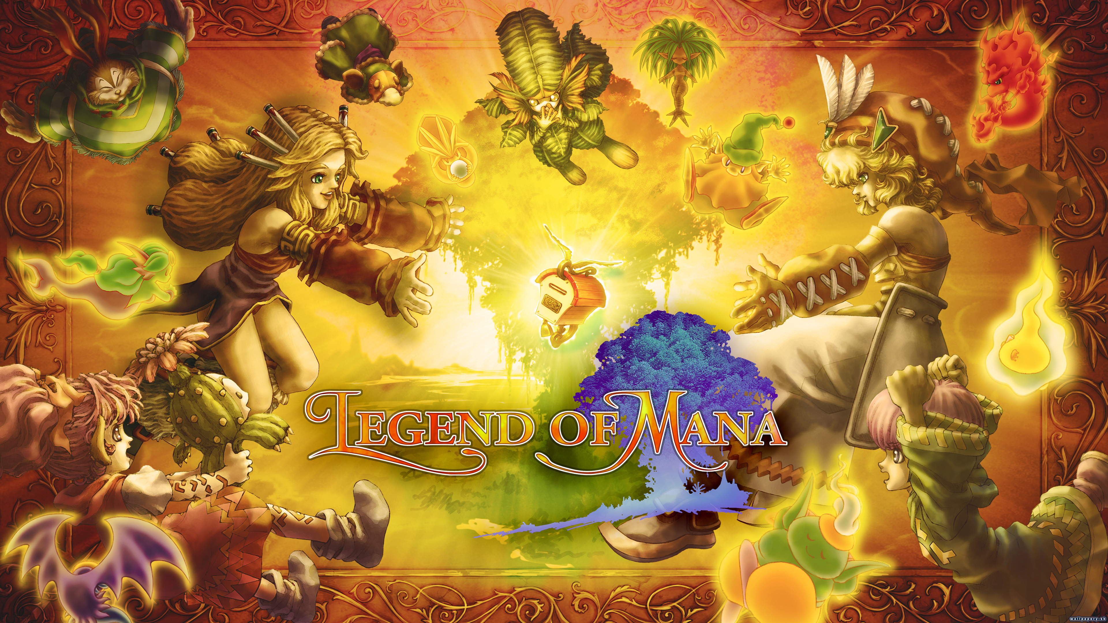 Legend of Mana - wallpaper 1