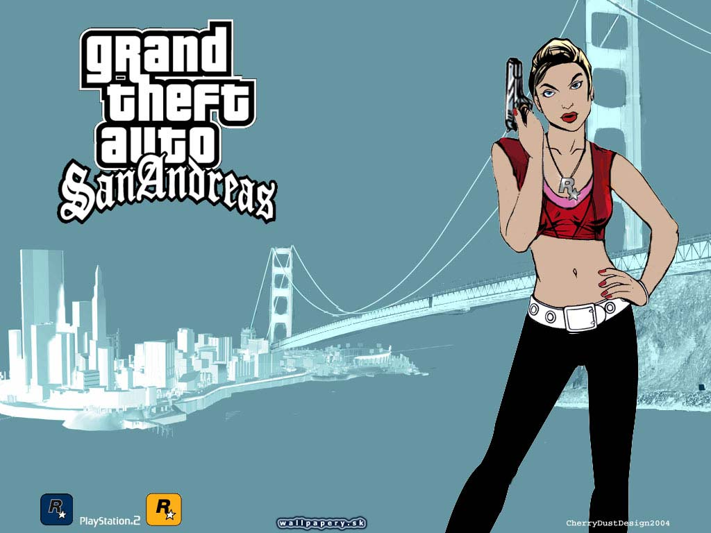 Grand Theft Auto: San Andreas - wallpaper 12