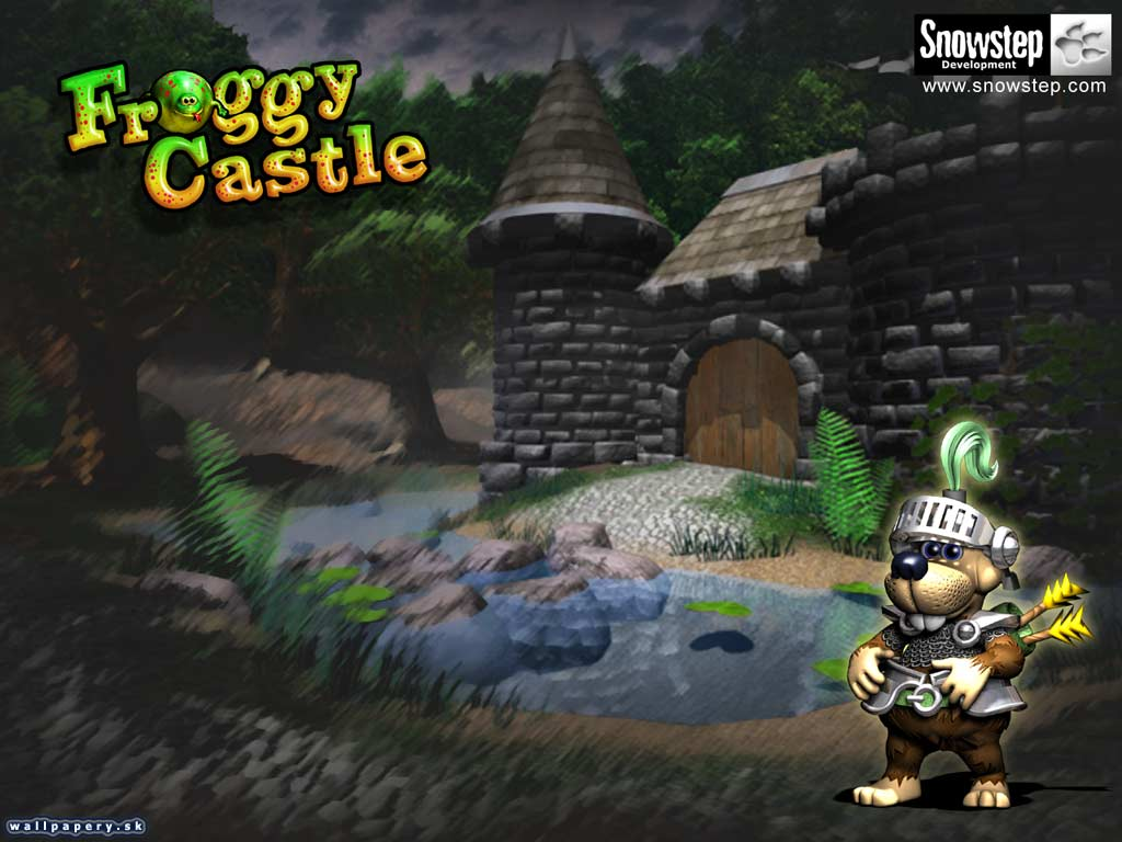 Froggy Castle - wallpaper 2