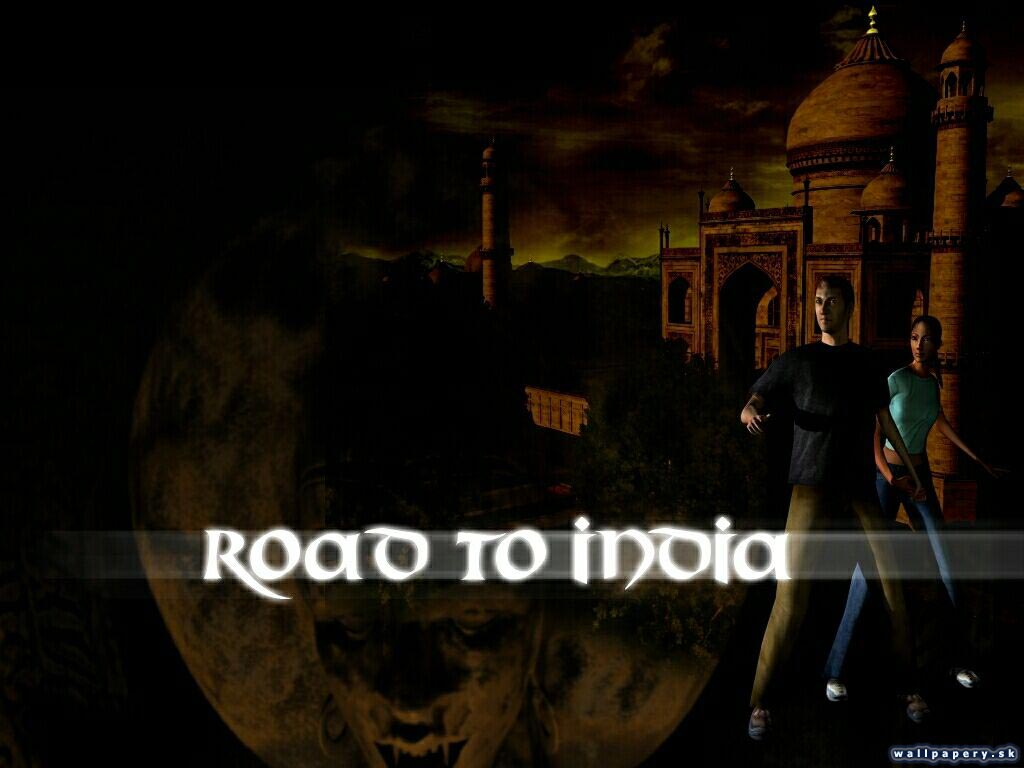 Road to India - wallpaper 2