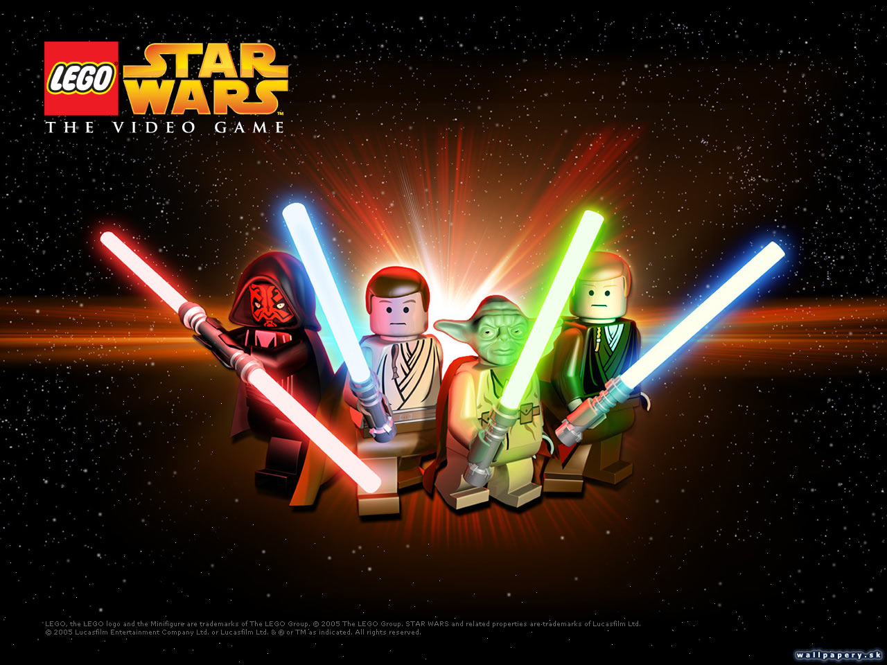 LEGO Star Wars: The Video Game - wallpaper 1