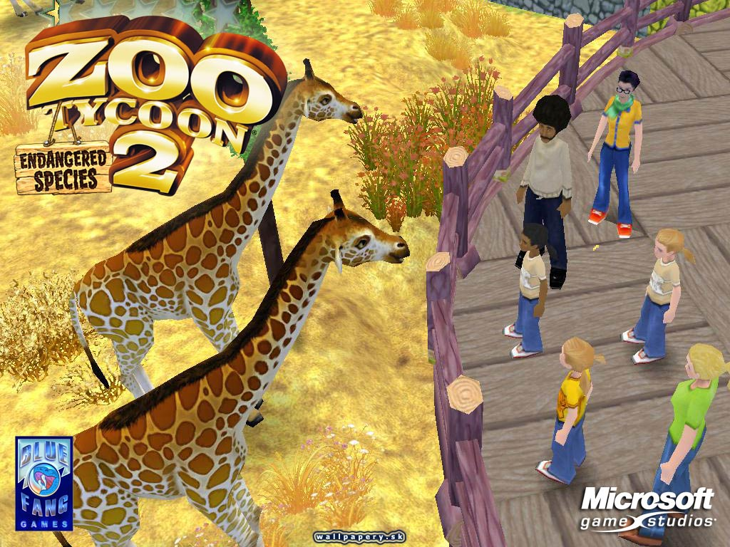 Zoo Tycoon 2: Endangered Species - wallpaper 1